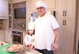 Chef Paul and daughter Stephanie